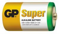 Alkalická batéria GP Super LR20 (D), 2 ks vo fólii